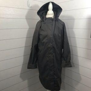 Eddie Bauer Weatheredge Hooded Gray Jacket